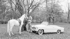 Miss USA a Škoda Felicia oslaví 60. výročí. Jaký je příběh této fotografie?