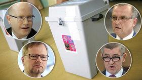 "Boj u voleb: Babiš versus Kalousek, Sobotka proti Fialovi a ""horká"" Praha"