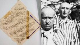 Vězni psali dopisy močí: Svědectví z nacistických táborů smrti