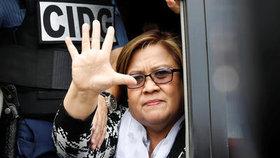 Kritičku filipínského prezidenta zatkli. Nenechám se umlčet, vzkázala