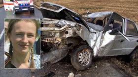 Děsivé svědectví o nehodě mladé maminky Veroniky (28): Miminko (†2 měs.) mělo celou hlavu od krve
