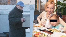 Paroubek se měl sejít s dcerou, zůstal ale sám! Petra se s Margaritou už 13 dnů ukrývá v Praze