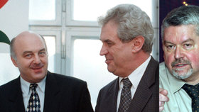 Zemanův exministr Svoboda (†68) bojoval s Alzheimerem. Do ČSSD přivedl Altnera