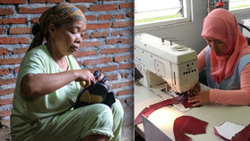 Šijí boty i do českých obchodů za pár set na měsíc. Jaká je šichta v Indonésii?
