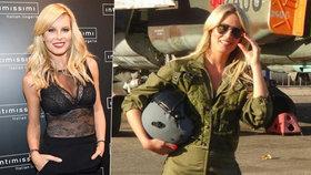 Krainová vypadá sexy snad ve všem: Sekne jí to i jako pilotce!