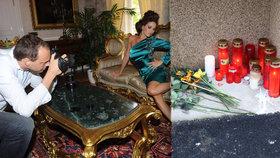 Verešová a další krásky v šoku: Fotograf Širc spáchal sebevraždu