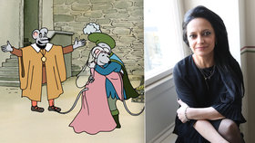Nový animák ČT Anča a Pepík: Sedm dílů za tři a půl roku, Bílá si střihla znělku