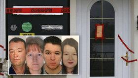 Nechutné detaily masakru rodiny: Švagr těla znetvořil a zapálil