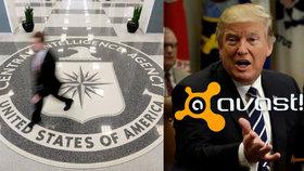 Na českou firmu Avast se zaměřila CIA, odhalil únik dat. Trump je znepokojený