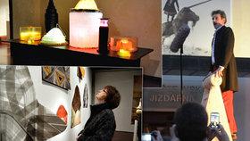 František Skála zahájil svou výstavu. Hvízdal jako pták, mluvil jako Zeman