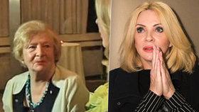 Herečka Zdena Studenková: Po smrti matky se uzavřela před světem