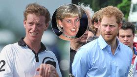 Milenec Lady Diany (†36) James Hewitt: Je Harry jeho syn?! Ta podoba musí v Charlesovi hlodat...