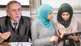 Stanislav Křeček (78) o islámu na školách: Poslat na rodiče sociálku? To je nepřijatelné!