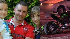 Neposlechl partnerku a tajně jezdil na motorce: Petr (†36) se zabil při nehodě