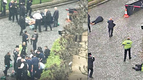 Vrah a hrdina z Londýna umírají pár metrů od sebe: Mrazivé záběry z kamer