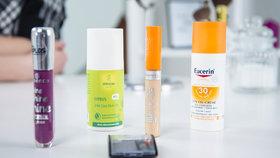 Vyzkoušeno před kamerou: Přírodní deodorant a opalovací gel pro problematickou pleť