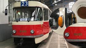 Výluky, nostalgická linka i nová zastávka: Pražany čekají změny v provozu tramvají