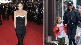 To tu ještě nebylo! Podívejte se, do čeho Victoria Beckham oblékla svou dceru a co jí dala pít