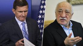 Trumpův muž jednal s Tureckem. O nočním předání údajného strůjce puče Gülena