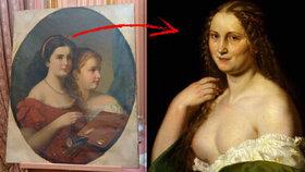 Objeven neznámý obraz Josefa Mánesa. Pomůže odhalit, kdo byla slavná Josefína?