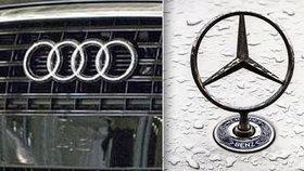 Audi a mercedesy musí do servisů: Trápí je airbagy a můžou se vznítit