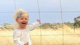 Děsivé foto: Matka vyfotila dcerku (2) jen centimetry od smrti!