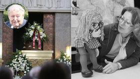 Rozloučení s Helenou Štáchovou (†72): Přiznání onkologa na pohřbu!
