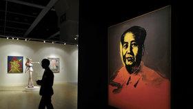 Portrét Mao Ce-tunga od Warhola našel kupce za téměř 280 milionů