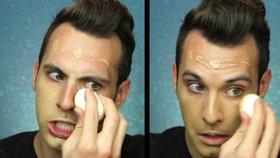 Šílený beauty trik! Podívejte se, jak nanášet  make-up pomocí vejce natvrdo!