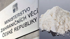 Na ministerstvo dorazil bílý prášek: Co přišlo v zásilce ze švýcarské ambasády?