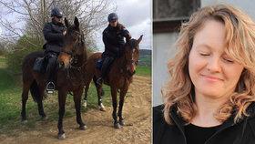 Zmizelá Pavla z Nechvalína: Policisté šli znovu do terénu, pomáhali i koně!