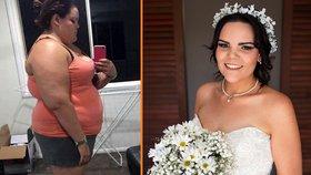 Týdně utratila skoro dva tisíce za sladké. Zhubla, aby se vešla do svatebních šatů