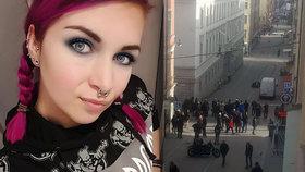 Teror očima dívky (24) ze Stockholmu exkluzivně pro Blesk: Lidé plakali a utíkali