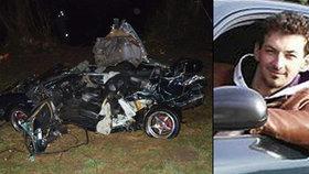 Luboš (†22) se ztratil cestou za přítelkyní: Našli ho mrtvého v havarovaném autě
