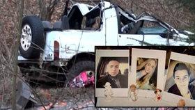 Honza, Daniel a Lucka (†17) zahynuli při nehodě: Mohl za ni špatný technický stav auta?