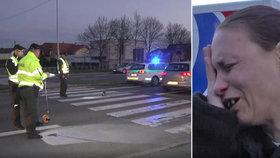 Holčičku (9) na přechodu srazilo auto: Skončila ve vážném stavu