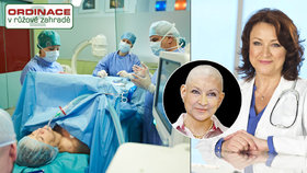 Drsná Ordinace: Herečku Adamovskou operovali přímo na jejím těle!