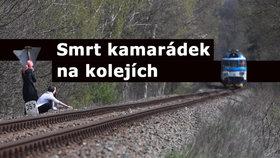 Žena spáchala sebevraždu skokem pod vlak: Ve stejný den jako Bartošová