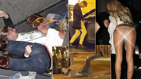 Ups, tohle nevyšlo! 10 namol opilých slavných, co se sotva drželi na nohou!