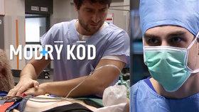 Seriál Modrý kód: Nečekaný infarkt a nález polomrtvého člověka!