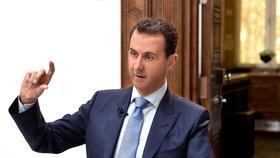 Asad o děsivé smrti dětí: USA jsou jedna ruka s teroristy, útok je vymyšlený