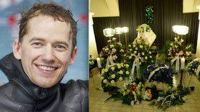 Pohřeb mistra světa Valenty: Přítelkyně nad rakví prozradila, co mu nestihla říct