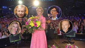 Vondráčková oslavila 70. narozeniny: Kde zůstali Gott, Korn, Neckář a spol.? Vyměnila je za mladší!