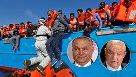 """Miliardář Soros dotuje migraci do Evropy, vypěnil Orbán. """"Diktátor,"""" slízl to"""