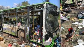 Výbuch konvoje zabil i 68 dětí: V Sýrii přišlo při atentátu o život 126 lidí
