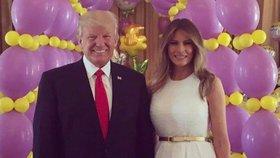 Velikonoce u Trumpů: Sešla se skoro celá rodina. Proč nepřijela Ivanka?