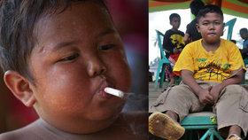 Dvouletý chlapeček kouřil 40 cigaret denně: Dnes je premiantem třídy!