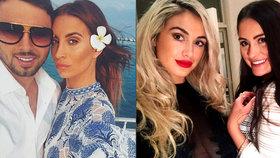 Přítel hvězdy slavného seriálu zaútočil kyselinou na sexy modelku a její krásnou sestru