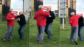 Staříci se do sebe pustili na veřejnosti: Rvačka skončila, když jeden ztratil brýle!
