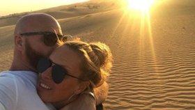 Celebrity na síti: Krainová v Dubaji a Vojtkovy narozeniny
